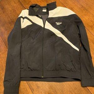 Reebok Vintage Windbreaker Jacket Size XL